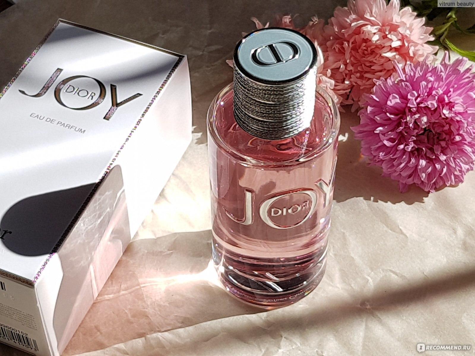 Dior Joy By Dior Eau De Parfum новый аромат от Dior Joy