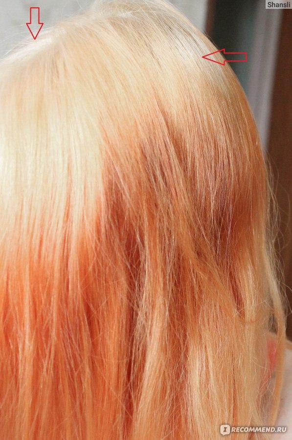 Как снять хну с волос