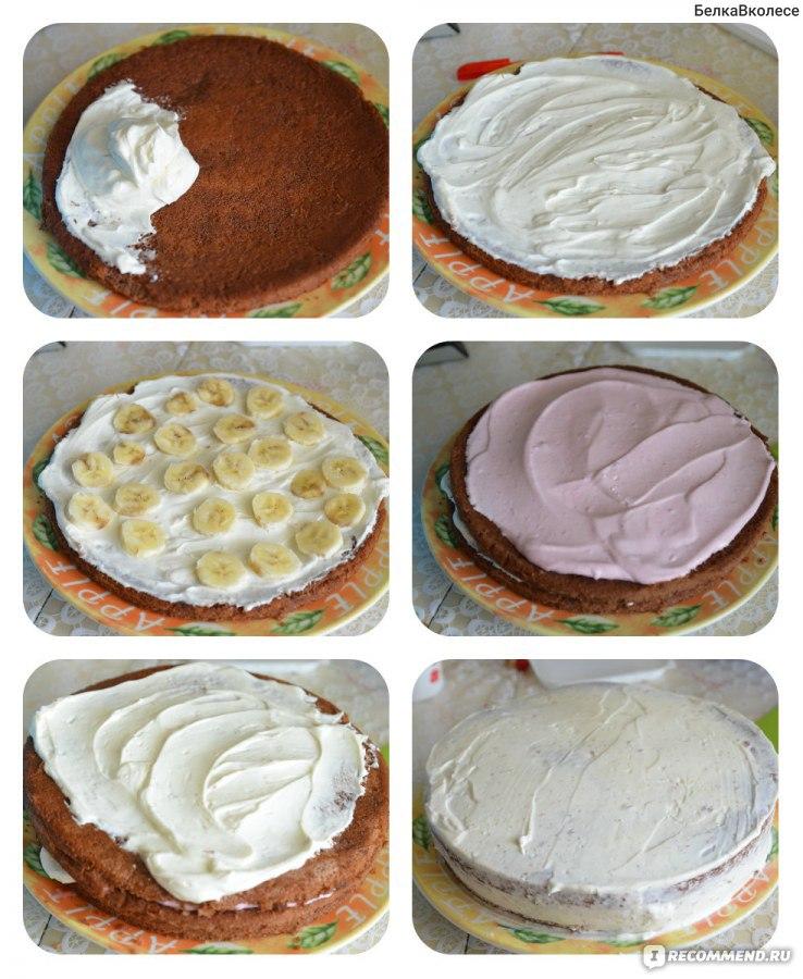 Торт с чиз кремом рецепт с пошагово