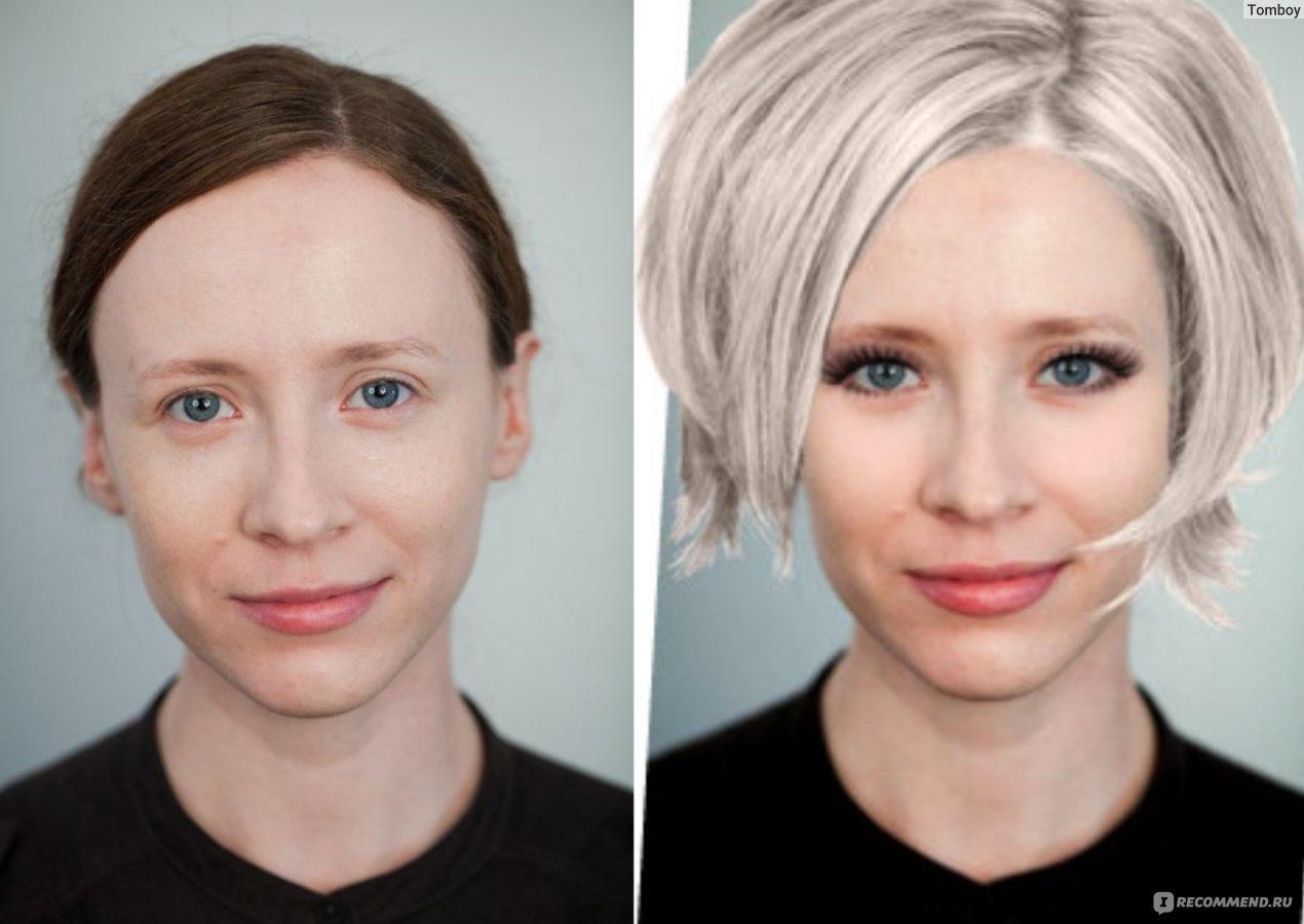 Виртуальный макияж и подбор прически