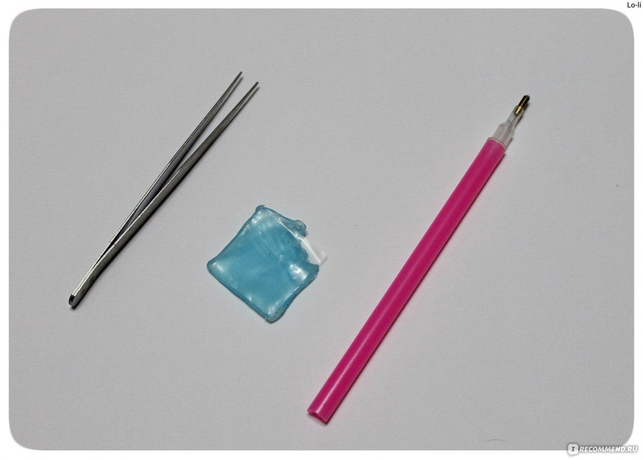 Алмазная вышивка для чего карандаш