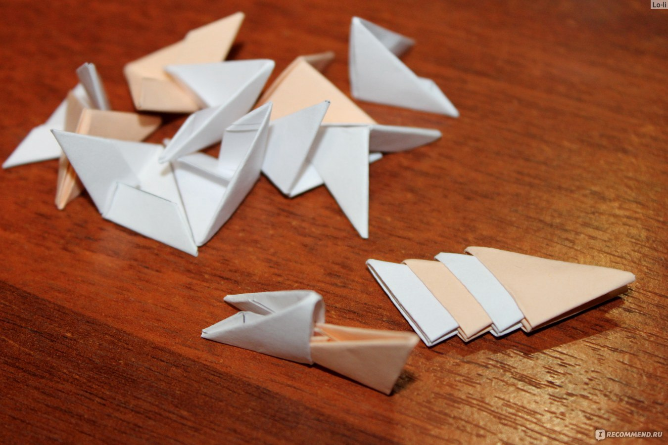 Не сложное оригами фото