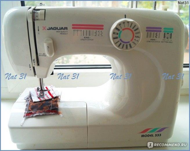 инструкция швейная машина ягуар 333 - фото 4