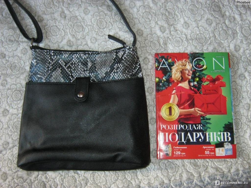 Сумка Avon Сабелла каталог 10 2013 - Avon Business