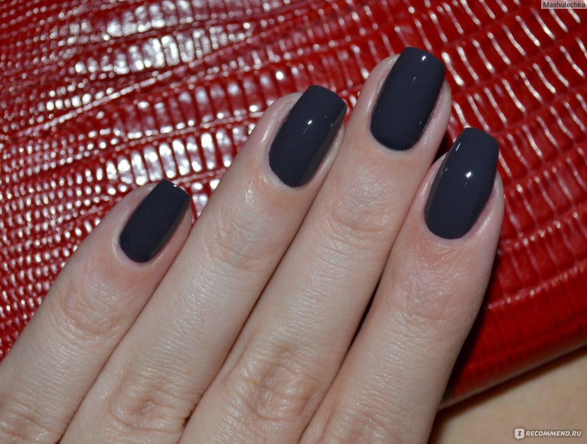 Ногти темно коричневые фото