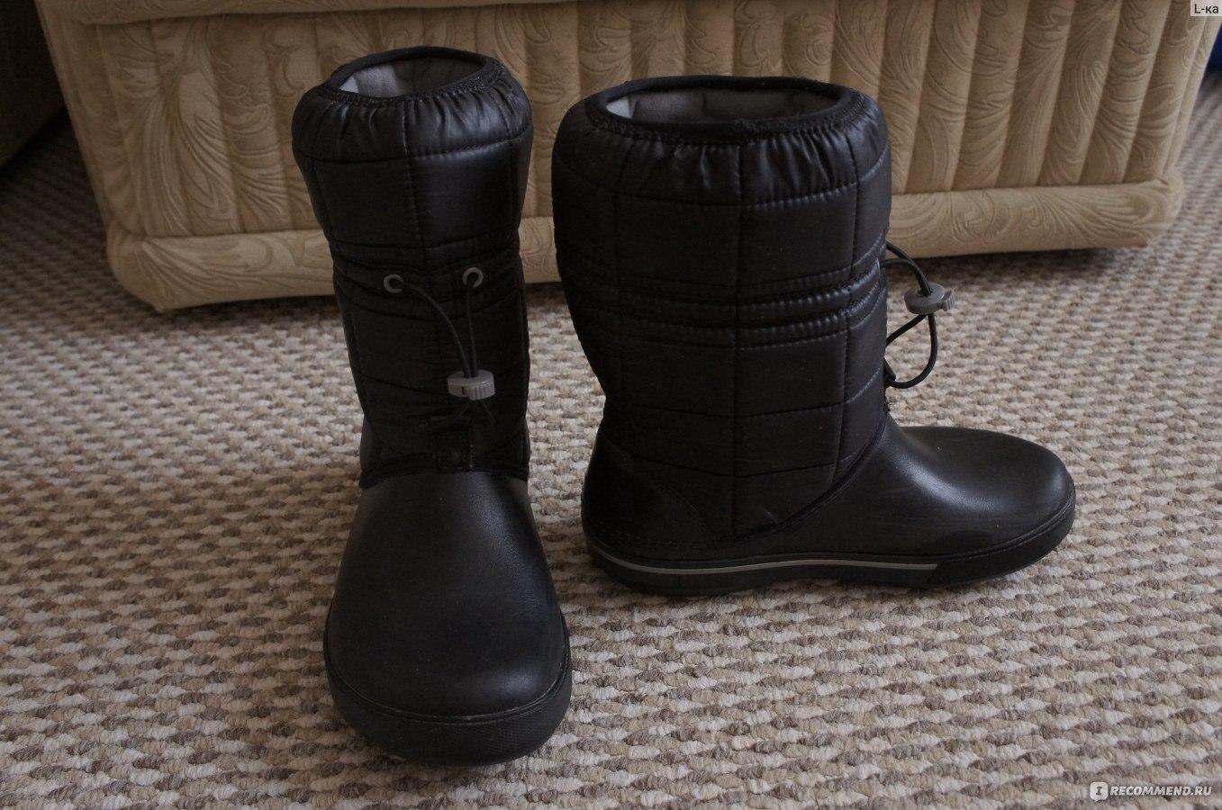 Зимние сапоги CROCS Women s Crocband Winter Boot - «Идеальный ... 5c0fc208fa6
