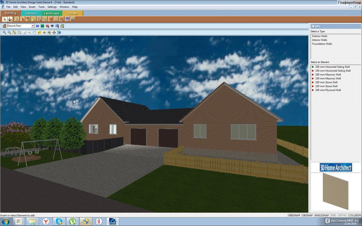 3d Home Architect Design Suite Deluxe V8 0