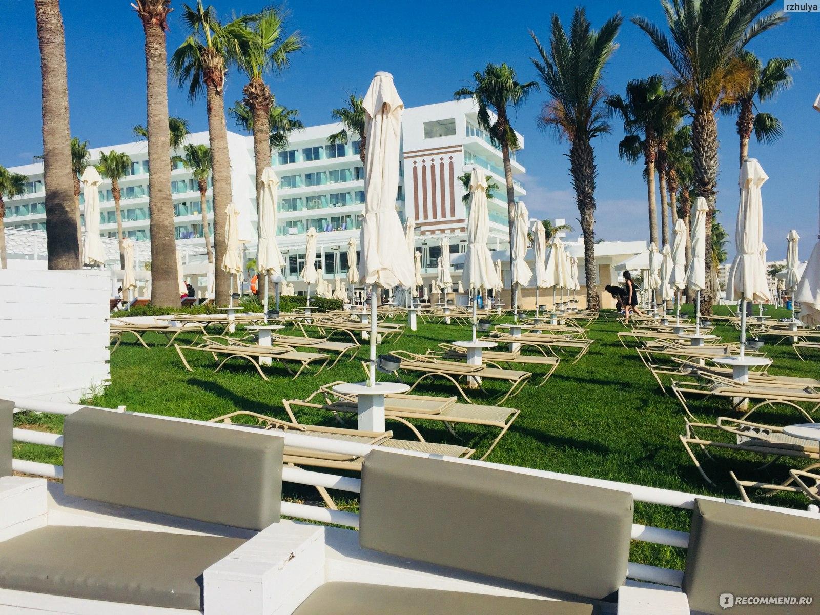 Кипр пляж нисси бич фото сооружен таким