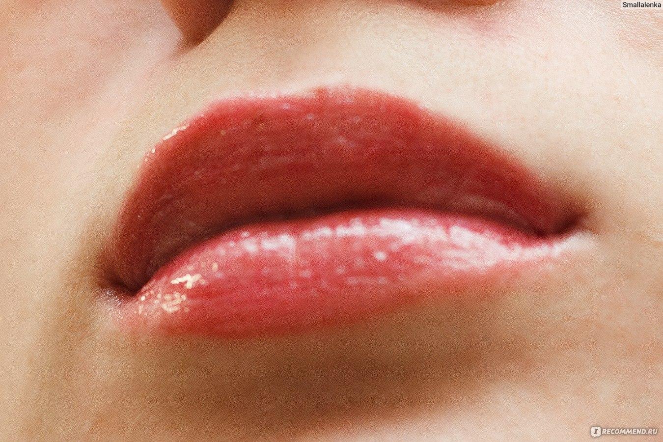 Как сделать влажные губы 549