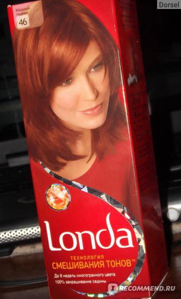 Лонда краска для волос медный тициан