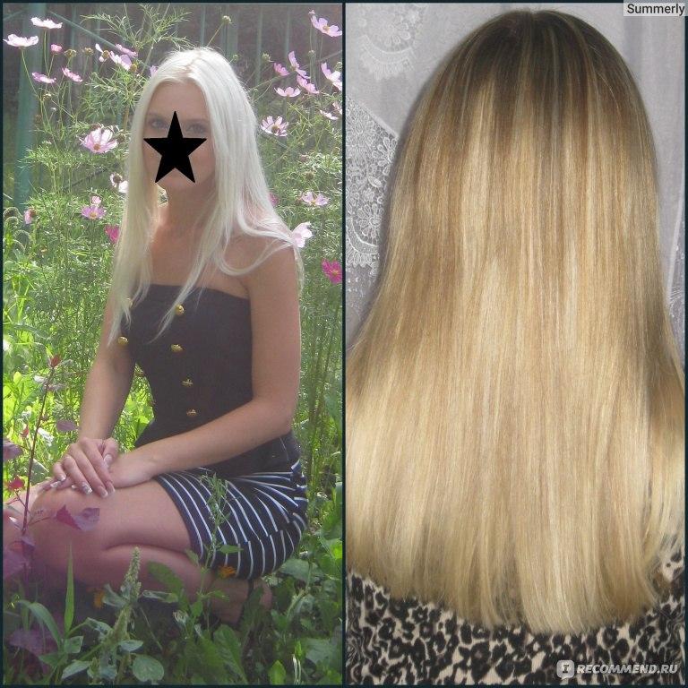 Осветление волос после мелирования