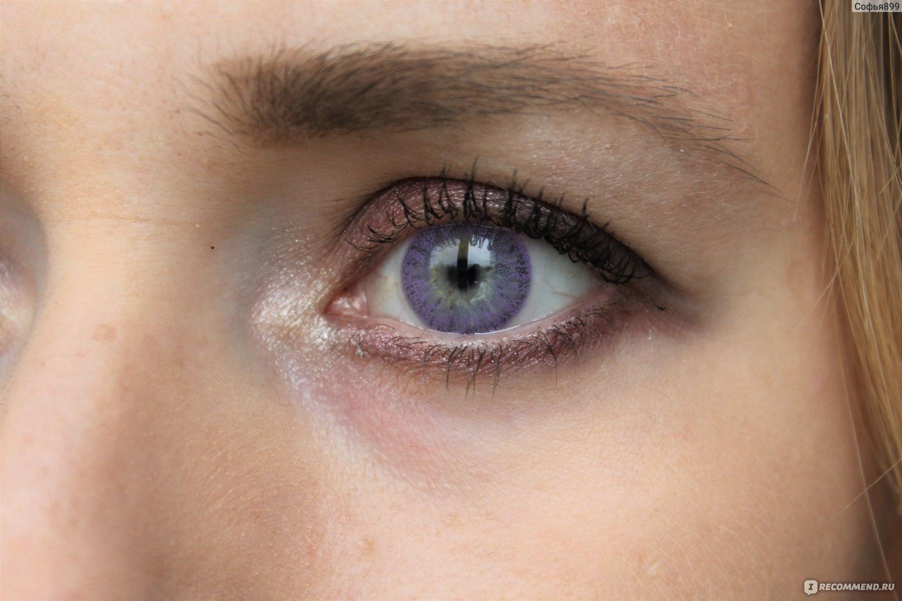 Как растворяют цвет глаз