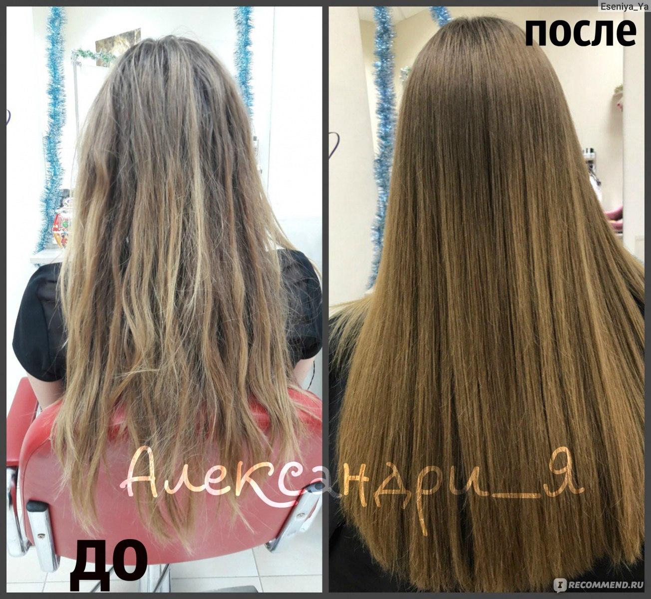 Как сделать волосы гуще в салоне фото 983