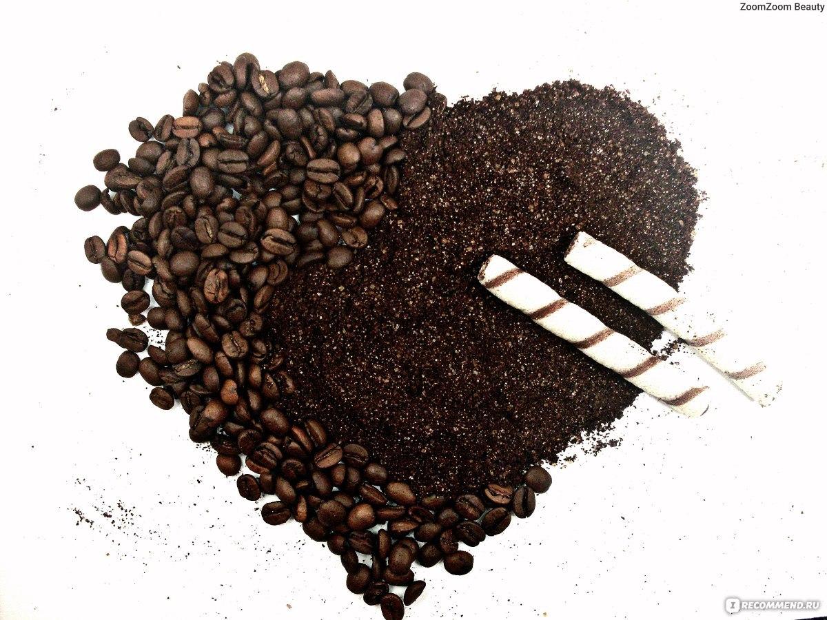 Скраб для сухой кожи лица из кофе в домашних условиях