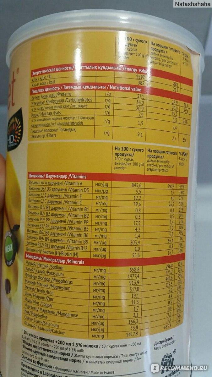 Коктейль банановый энерджи диет отзывы