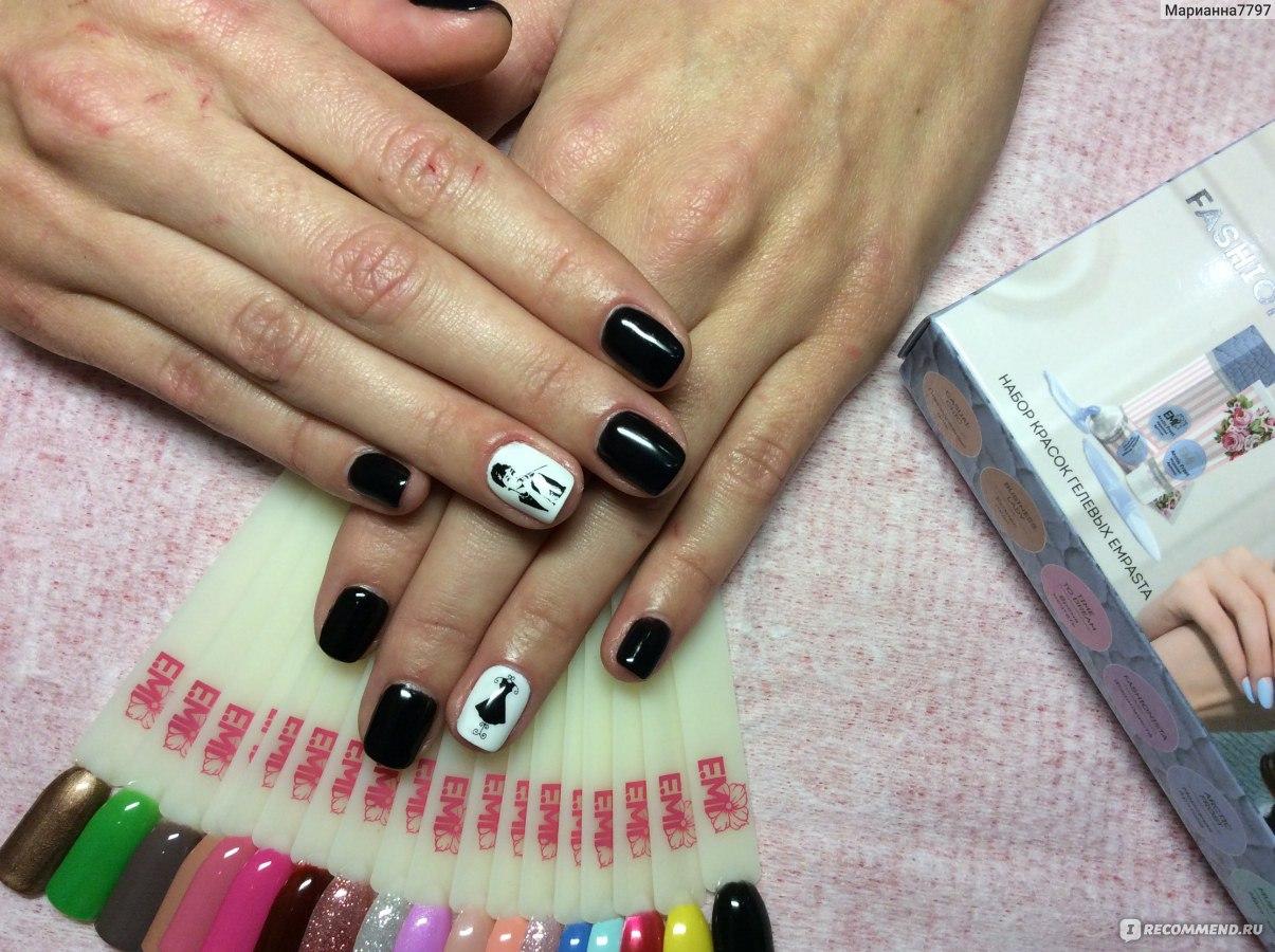 Дизайн ногтей нейлкруст фото