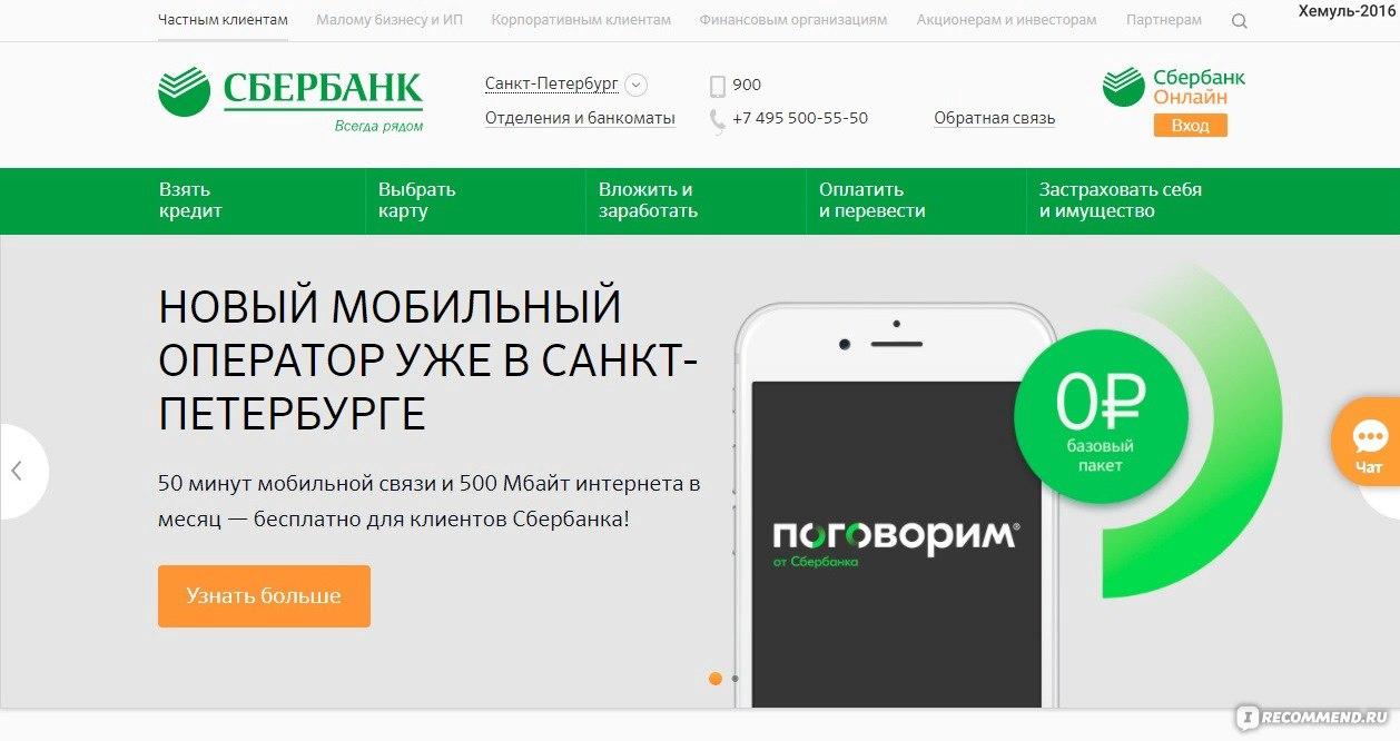Online sberbank ru кредиты