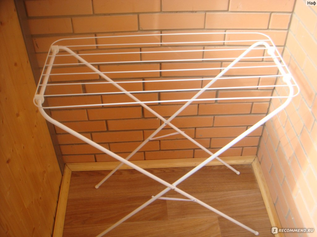 Сушилка на балкон - идеи красивого сочетания с общим дизайно.