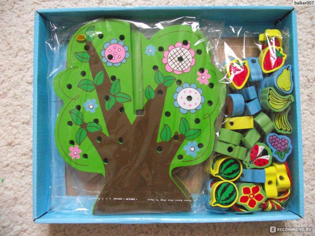 Развивающие игрушки дерева для детей своими руками