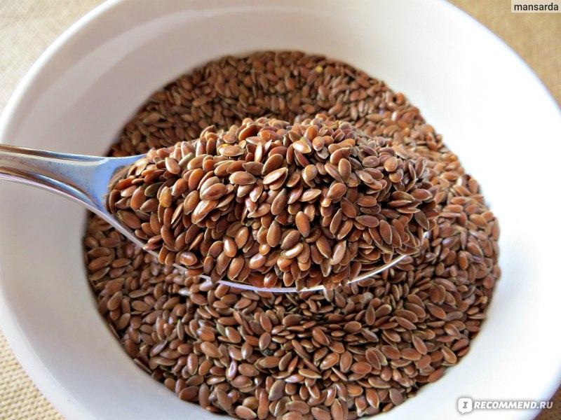 Можно ли жевать семена льна