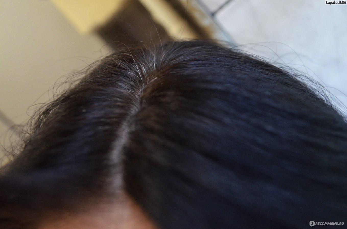 К закрасить седину на темных волосах