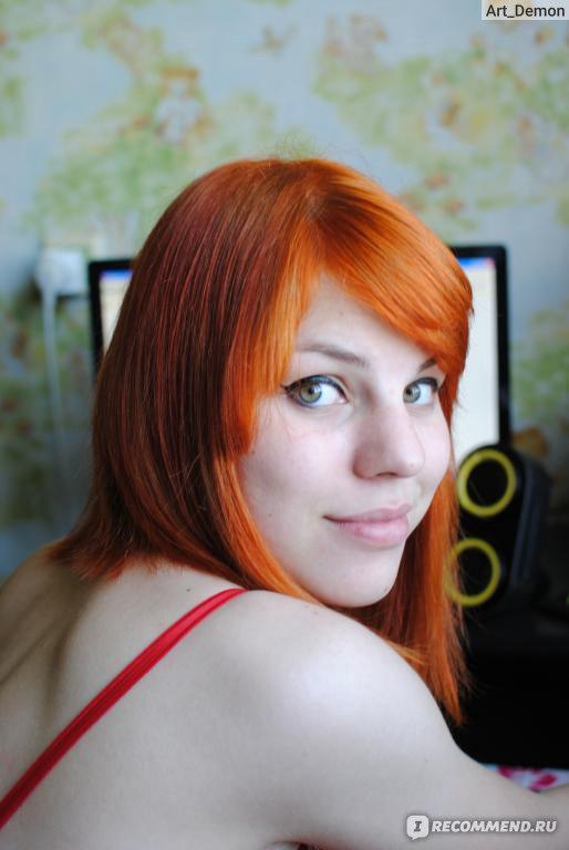 Краска для волос рыжая