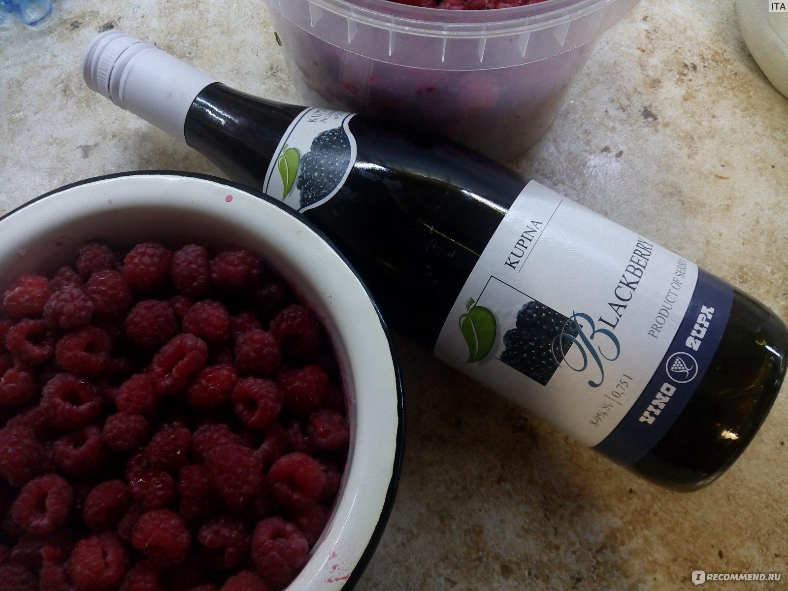 Рецепты вино из ежевики в домашних условиях 59