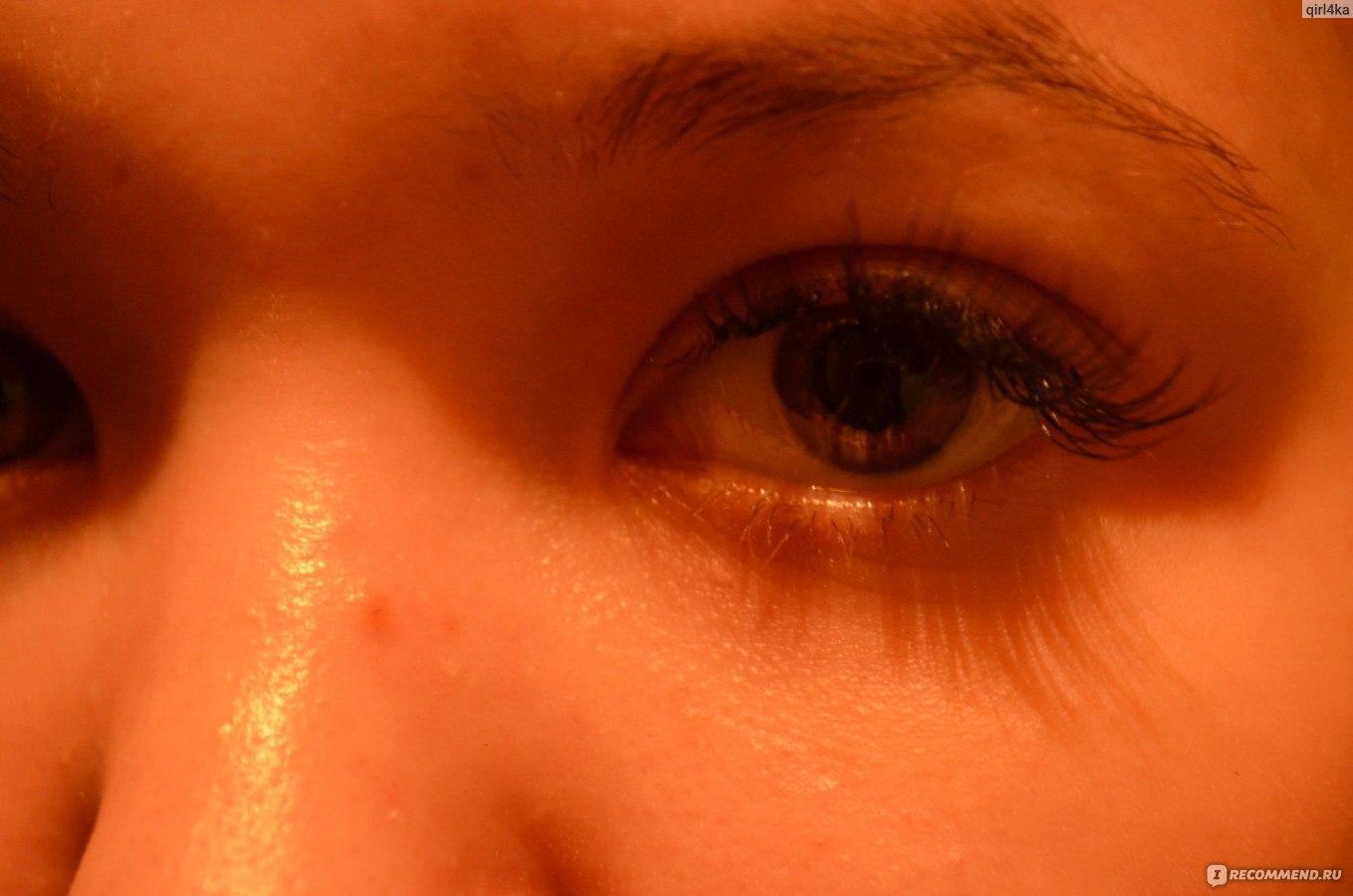 Глаза пекут от нарощенных ресниц