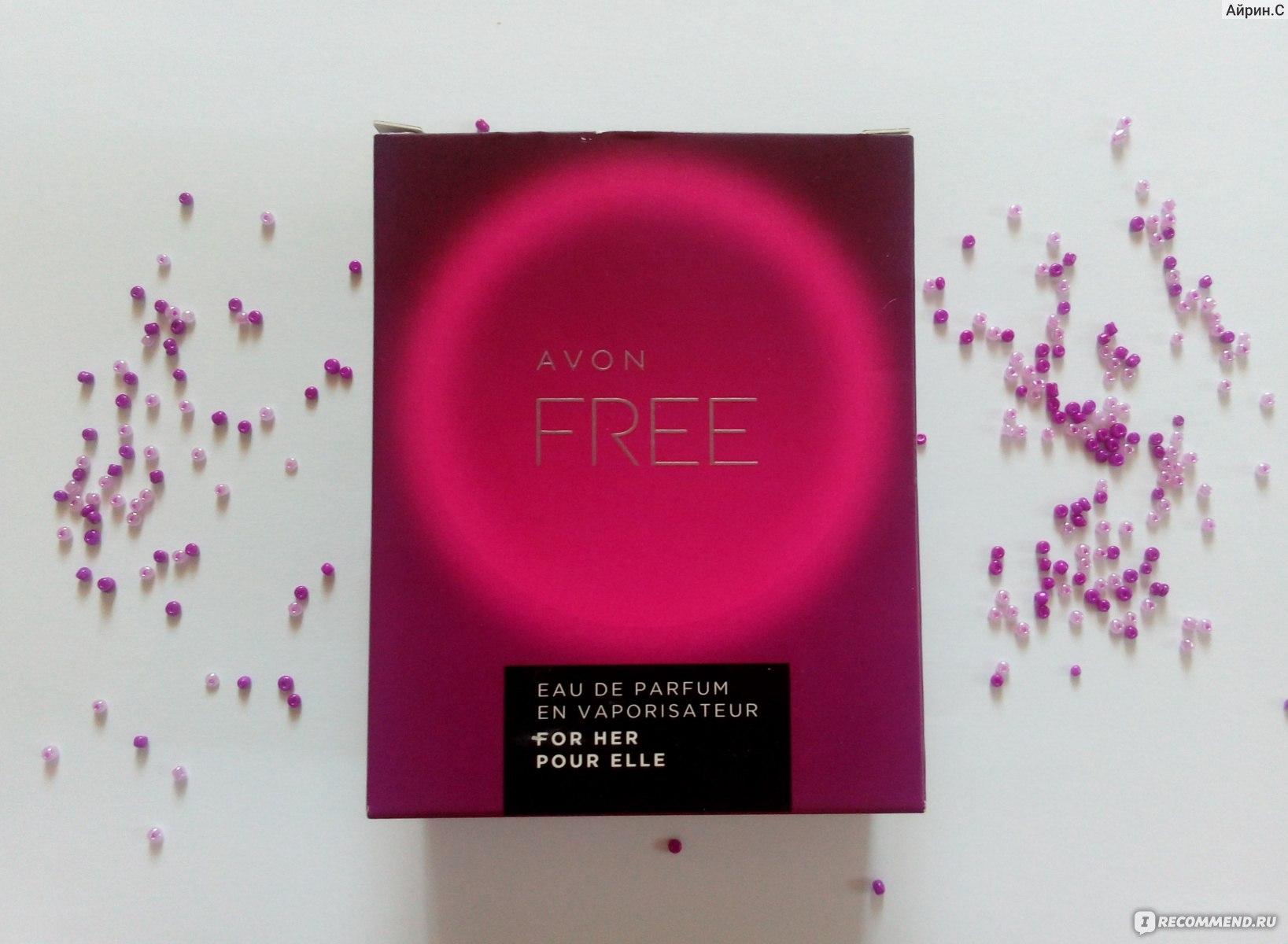 Avon парфюмерная вода Free для нее неновинка от Avon в отзыве