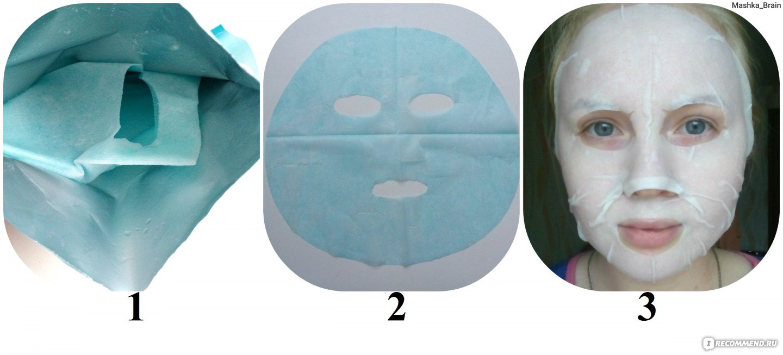 маска гарньер для лица тканевая как пользоваться