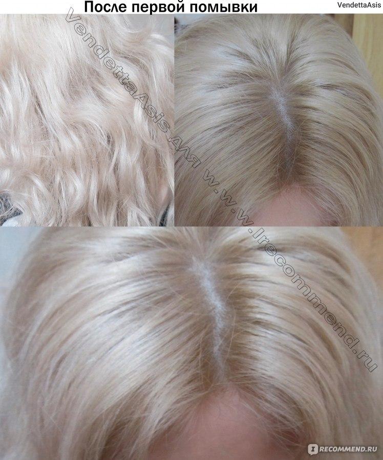 Капус 9.21 на желтый волос