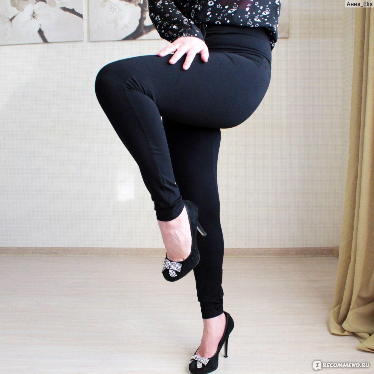 4ccb3822679dd Леггинсы AliExpress COLROVIE 2018 Spring High Waist Skinny Leggings Black  Empire Eyelet Lace Up Sexy Leggings