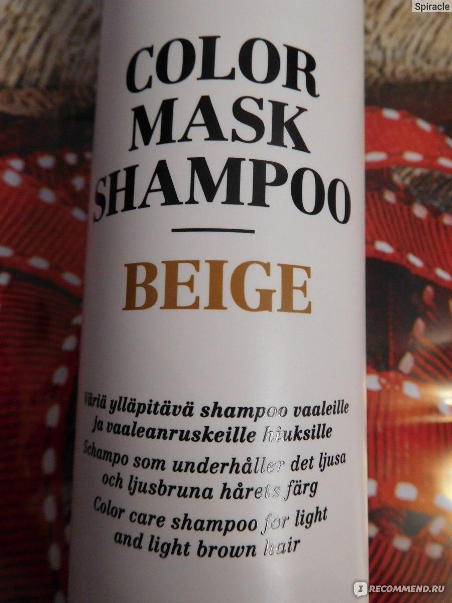 Инструкция по применению шампуня на английском языке