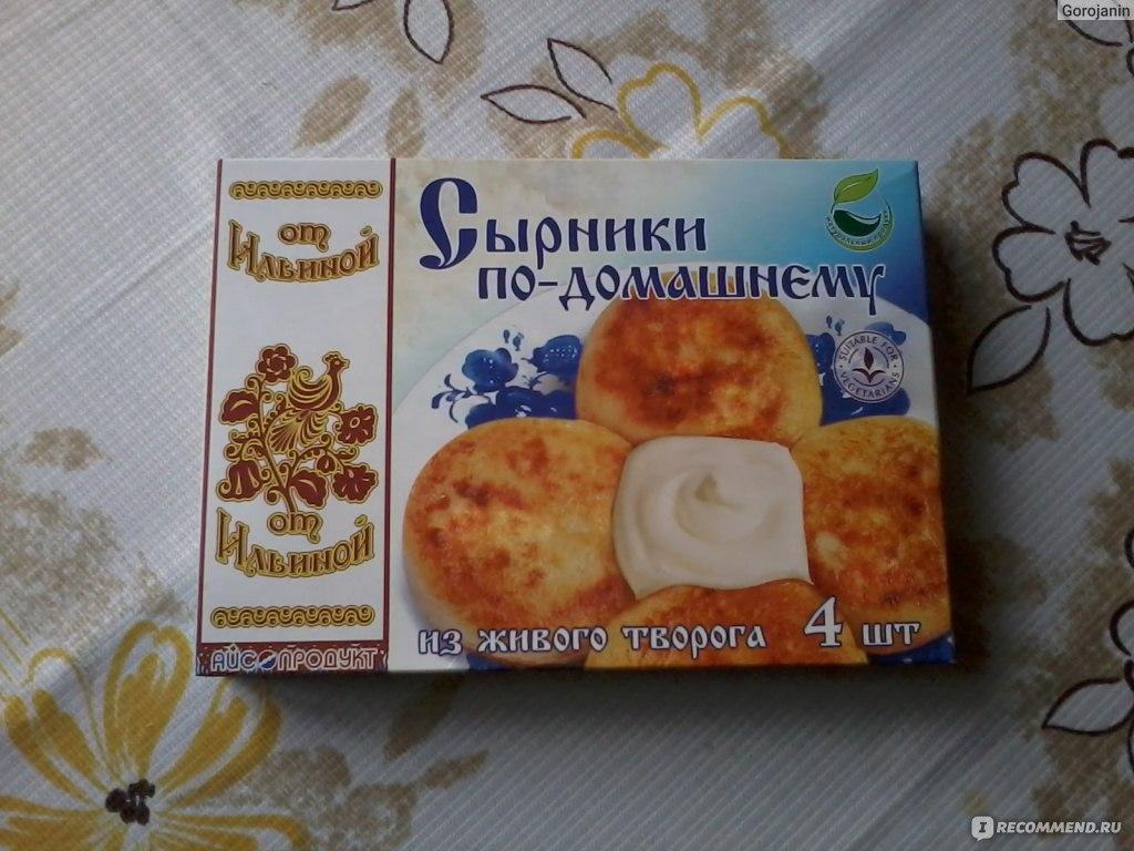 Айс-продукт сырники