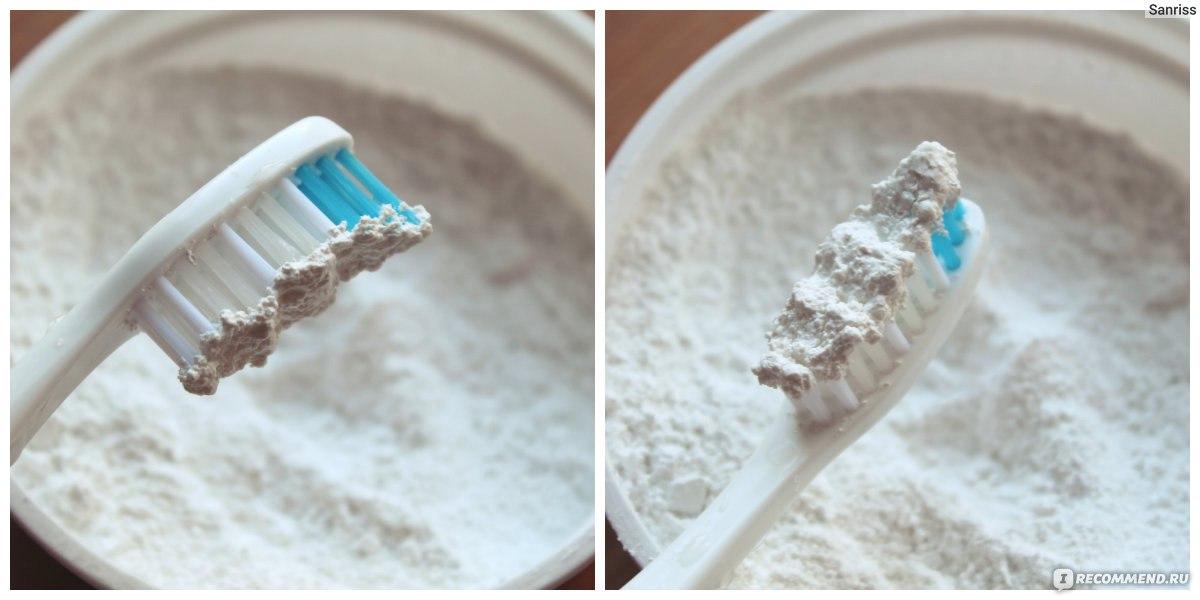 Плюсы зубного порошка
