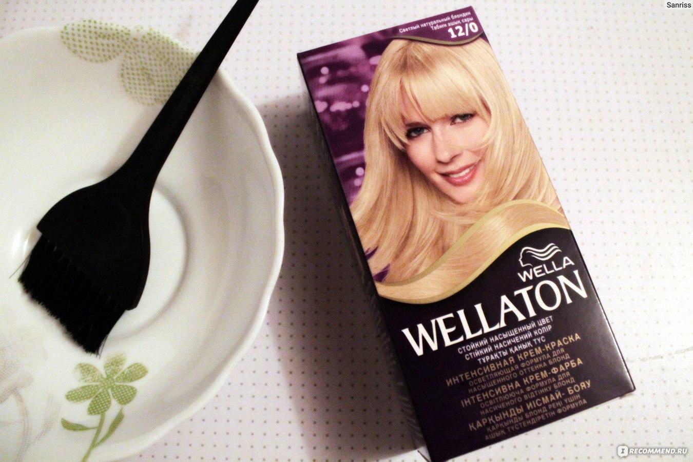 Веллатон 12.0 краска для волос