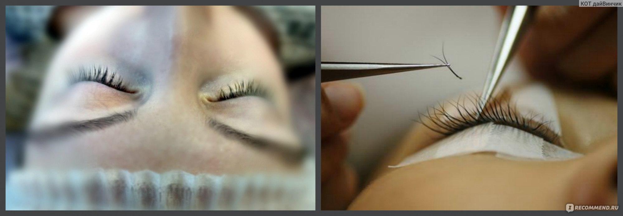 Прайсы на наращивание ресниц фото