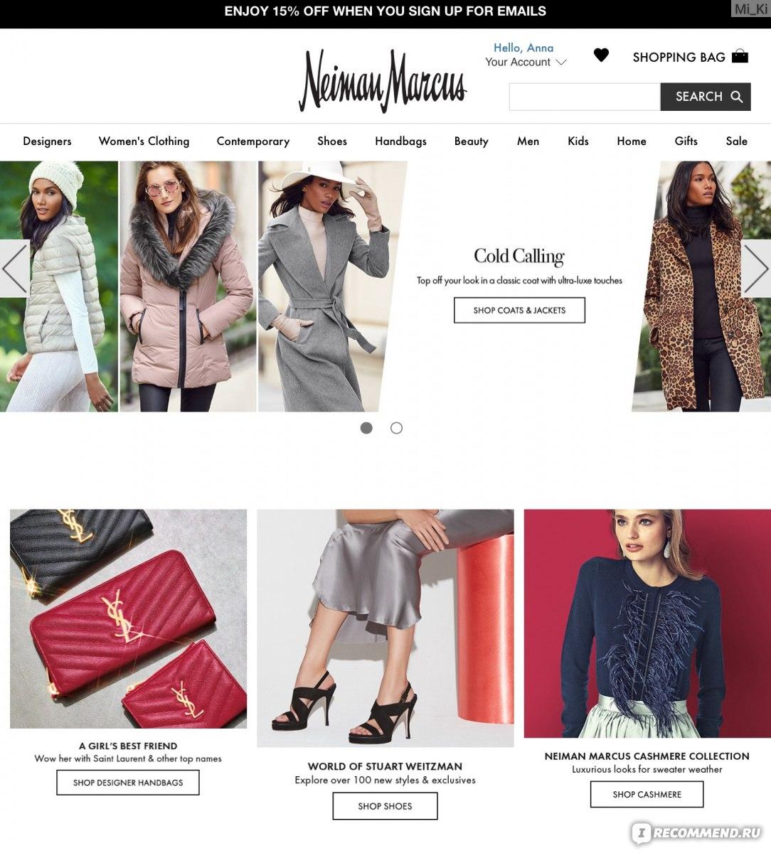 44069208848f Сайт «NeimanMarcus.com» - интернет- магазин одежды, обуви и ...