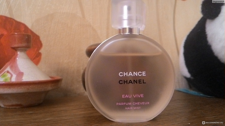 Chanel Chance Eau Vive мой второй шанс Eau Vive Hair Mist отзыв