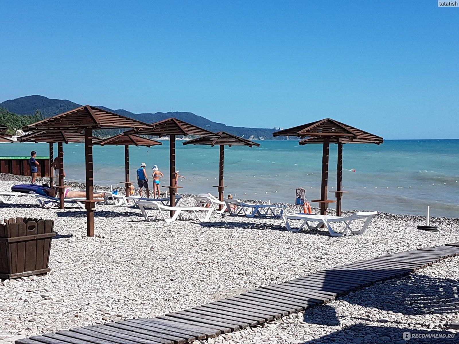 Ольгинка море пляж фото