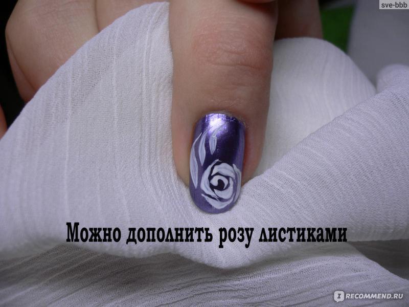 видео как нарисовать кружева на ногтях