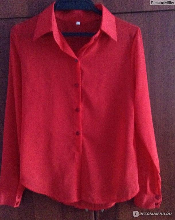 Блузки Красные Доставка