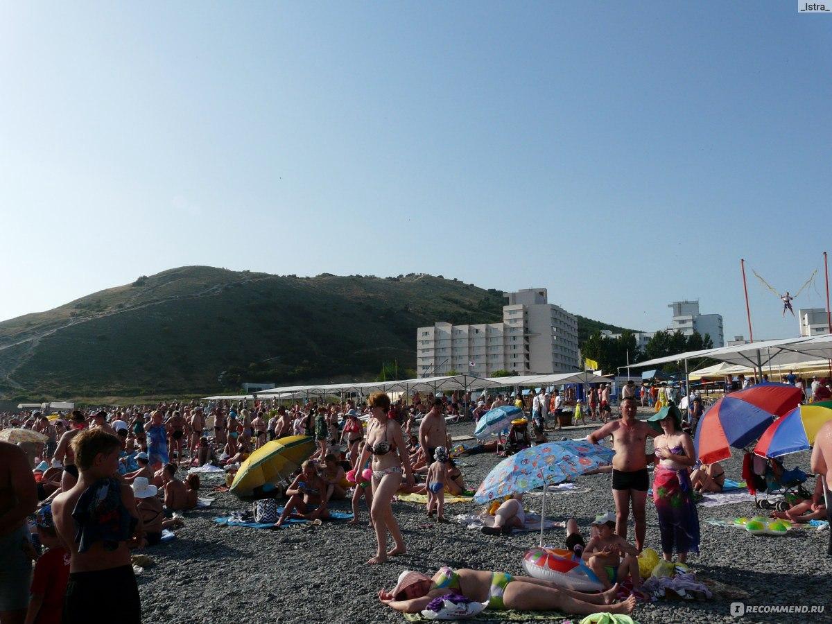 Сукко фото пляжа и набережной 2018