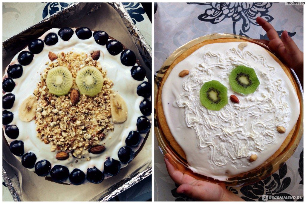 торт с покупных коржей венский фото рецепт
