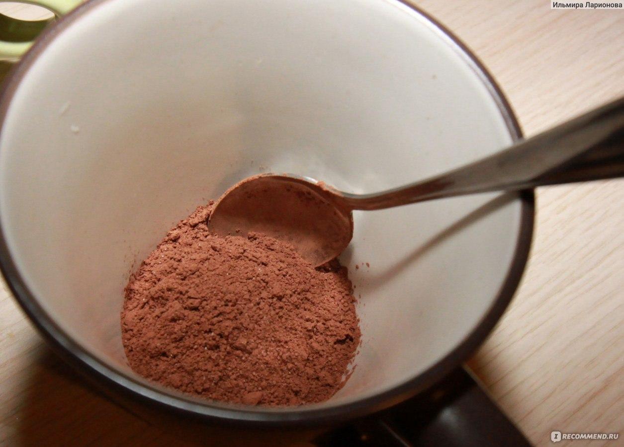 Шоколад из какао порошка в домашних условиях  700