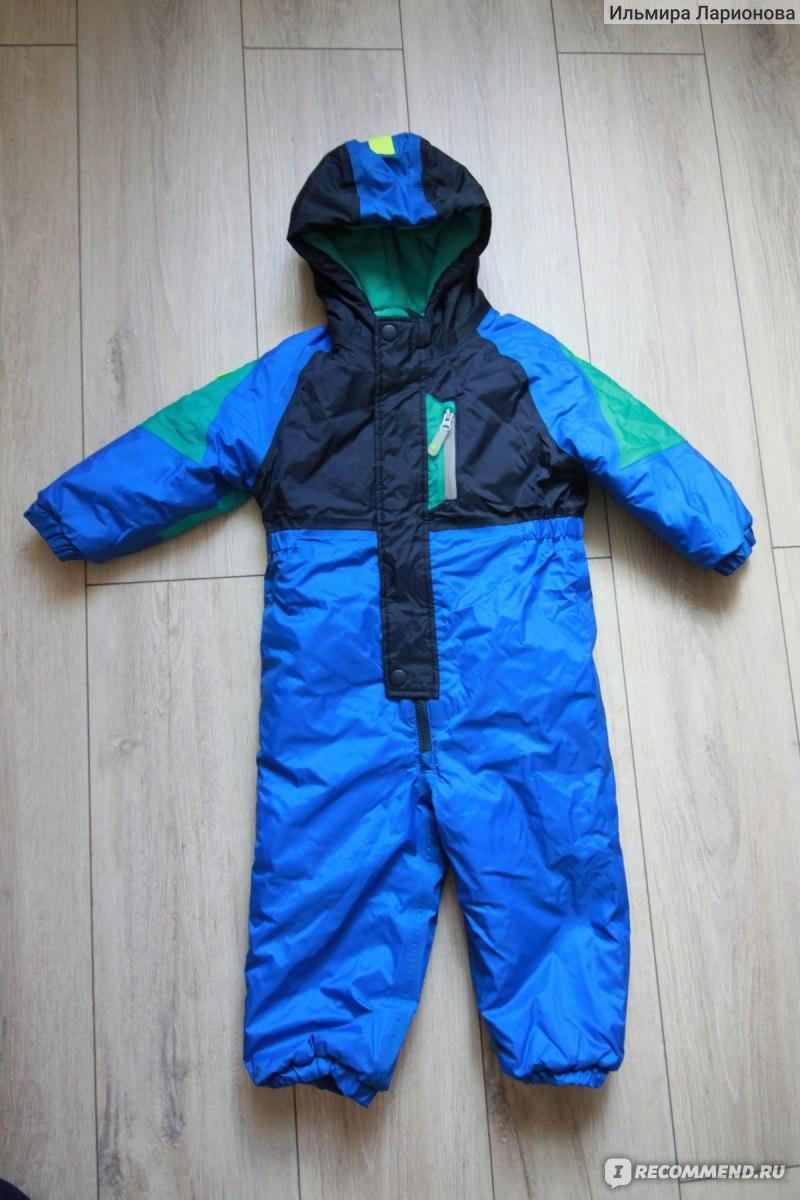 Детский зимний комбинезон NEXT ярко-синего цвета 832e4a86604da
