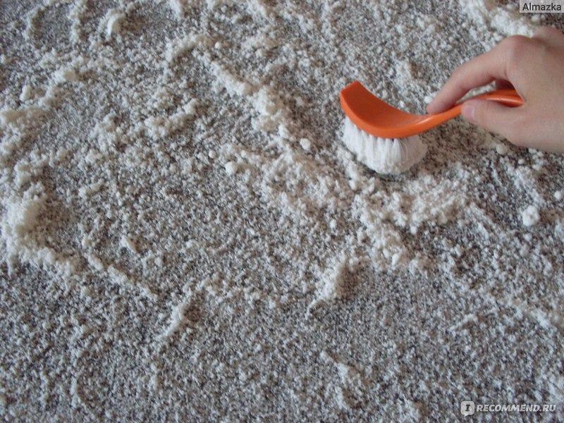 Порошки для чистки ковролина в домашних условиях