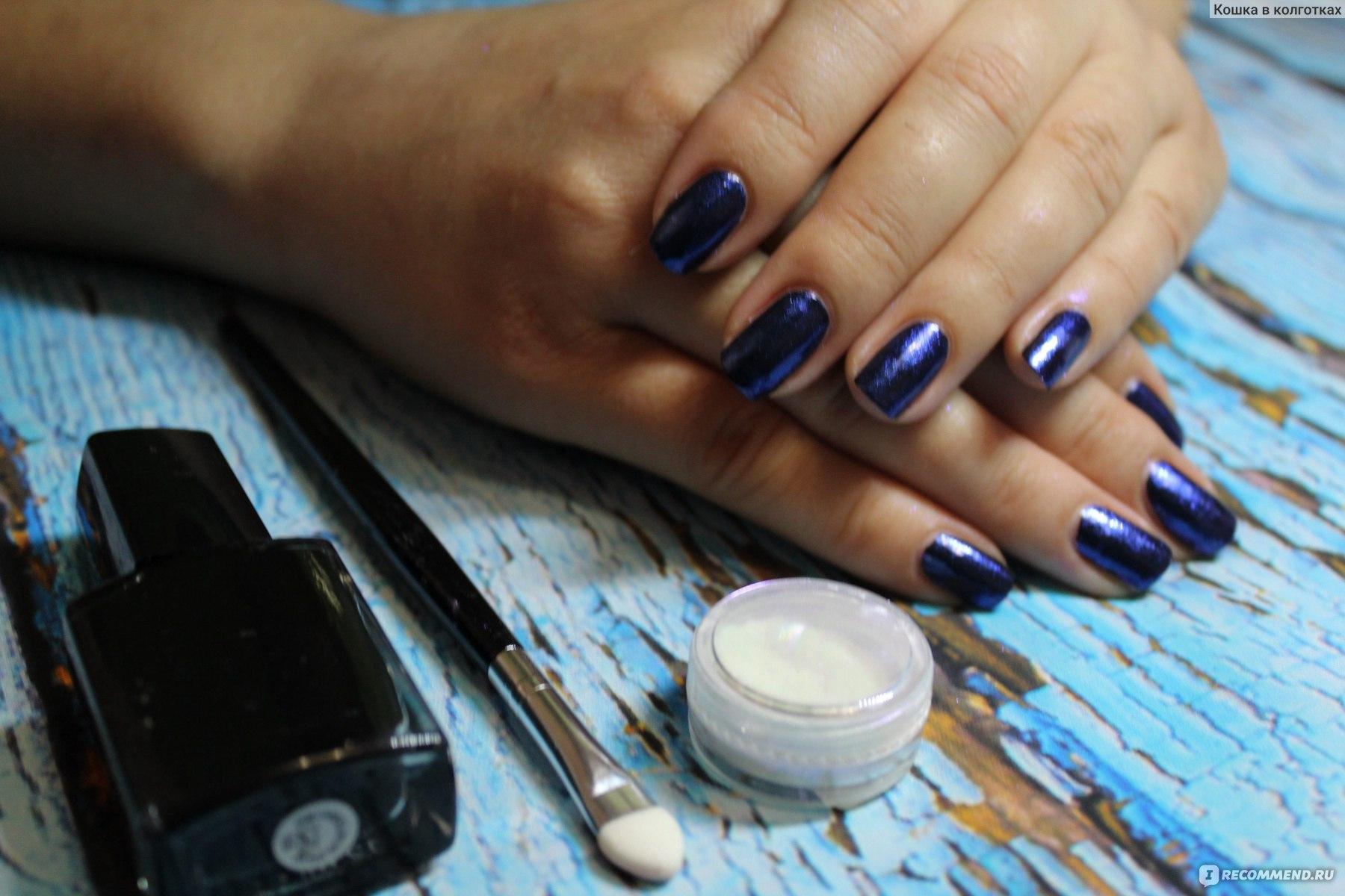 Зеркальный порошок для ногтей как пользоваться