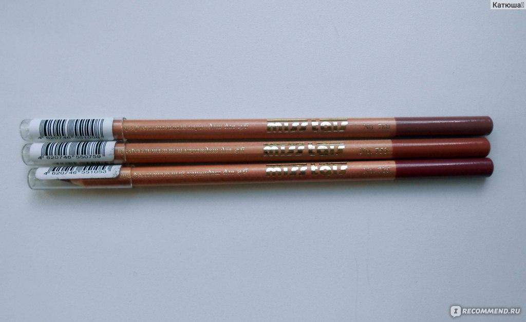 Карандаш для губ и глаз miss tais профессиональный карандаш (Чехия) - \