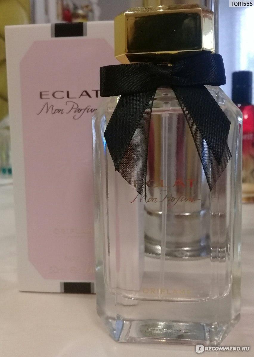 Oriflame Eclat Mon Parfum томящая нежность обволакивающая и